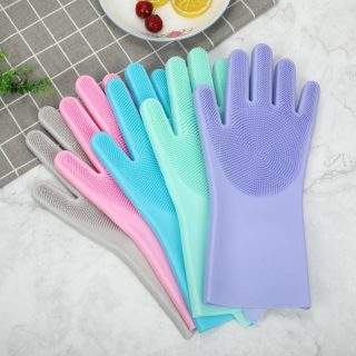 Dishwashing-Silicone-Cleaning-Gloves