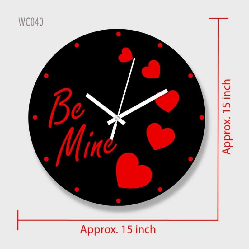 Colorful Wooden Board Wall Clock 2